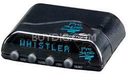 PRO-3450 Remote Installation Laser-Radar Detector with Blue Tri-Directional Disp