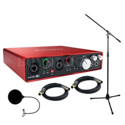 Scarlett 6i6 USB Audio Interface (2nd Gen) w/ Professional Tools