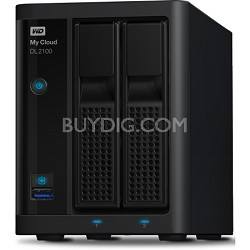 My Cloud Business Series DL2100 2-Bay Pre-configured NAS Hard Drive - 8TB