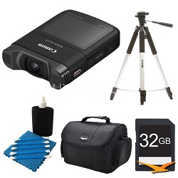 "VIXIA mini X 1080p Full HD 2.7"" Touch Panel Camcorder Kit"