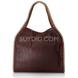 Grayson Shoulder Bag - Merlot