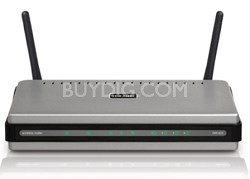 RangeBooster N Wireless Router, 4-Port 10/100 Switch, 2 Antennas, Draft 802.11n