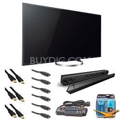 KDL65W850A 65-Inch Bravia LCD HDTV Sound Bar Bundle