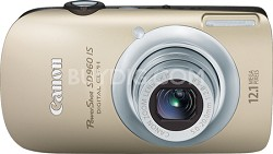 PowerShot SD960 IS Digital ELPH Digital camera - 12.1 Megapixel - 4 x gold