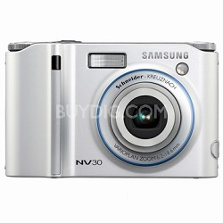 "NV30 8MP 2.5"" LCD Digital Camera (Silver)"