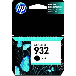 932 Black Officejet Ink Cartridge
