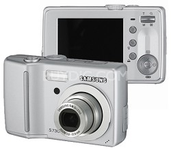 S730 7.2 MP Digital Camera (Silver)