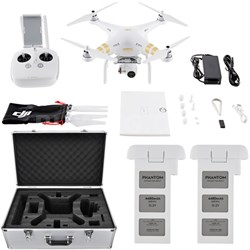 Phantom 3 4K Quadcopter Drone with 4K Camera and 3-Axis Gimbal Flight Bundle