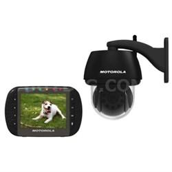 Scout1100 Wireless Pan/Tilt/Zoom Video Pet Monitor w/ Night Vision - OPEN BOX