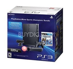 PlayStation 3 Console 320GB Move Bundle