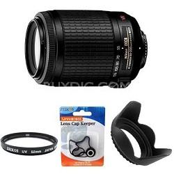 55-200mm f/4.5-5.6G ED AF-S VR DX Zoom-Nikkor, With Nikon 5-Year USA Warranty