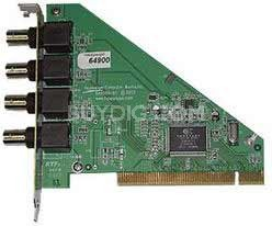 Low-Profile Impact (VCB) Video Capture Board LP-PCI 1-SVID 3-RCA COMP Model #166