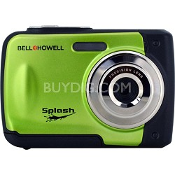 Splash WP10 12MP Waterproof Camera (Green)