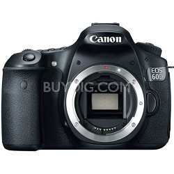 EOS 60D 18 MP CMOS Digital SLR Camera with 3.0-Inch LCD (Body Only)