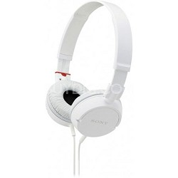 MDR-ZX100 Stereo Headphones (White)