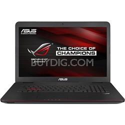 ROG GL771JM-DH71 17.3 Inch Intel Core i7-4710HQ 2.5GHz Gaming Laptop - OPEN BOX