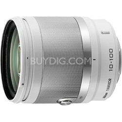 1 NIKKOR 10-100mm f/4.0-5.6 VR Lens - White