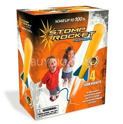Stomp Rocket Junior Glow Kit (Glow in the Dark Rockets!)