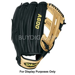 """A600 Slowpitch Glove - Left Hand Throw - Size 13"""""""