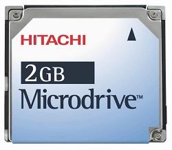 2Gig. HITACHI MicroDrive Kit {W/ PCMCIA Adapter}