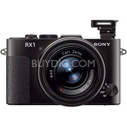 Cyber-shot DSC-RX1 24.3MP Exmor CMOS Digital Camera (Black)