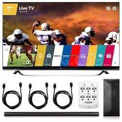 60UF8500 - 60-Inch 2160p 240Hz 3D 4K TV + LAS751M 4.1 Channel Soundbar