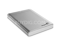 Backup Plus 500 GB USB 3.0 Portable External Hard Drive STBU500101 (Silver)