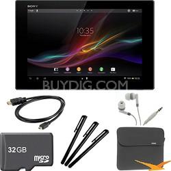 "Xperia Black 10.1"" 16GB Tablet Z 32GB Memory Card Bundle"