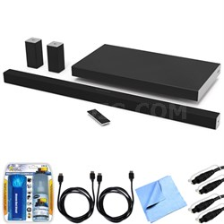 "SB4051-D5 SmartCast 40"" 5.1 Sound Bar System w/ Essential Accessory Bundle"