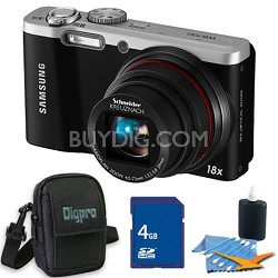 WB700 18x Zoom Black Digital Camera 4 GB Bundle