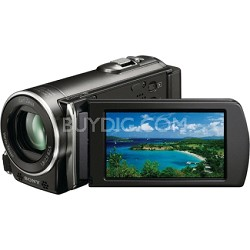 HDR-CX110 HD Handycam Camcorder  (black) - OPEN BOX