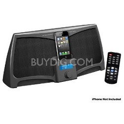 PIP711 iPad/iPod/iPhone Digital 300 Watts Stereo Speaker System With Remote Cont