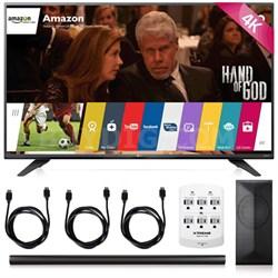 55UF7600 - 55-inch 2160p 120Hz 4K UHD LED TV + LAS751M 4.1 Channel Soundbar