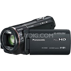 HC-X920K 3MOS Ultrafine 12X Optics Wi-Fi Full HD Camcorder