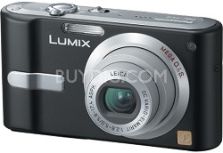 DMC-FX12K (Black) Lumix 7.2 megapixel Digital Camera w/ 2.5-inch LCD
