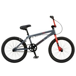 "Menace 20"" Dirt/Street BMX Bike - Grey"