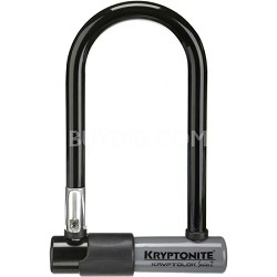"""Kryptolok Series 2 Mini Bicycle U-Lock w/ Transit FlexFrame Bracket (3.25"""" x 7"""")"""