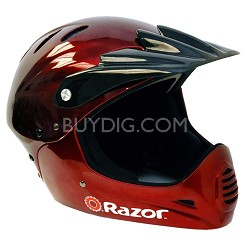 Razor Full Face Helmet - Black Cherry - OPEN BOX
