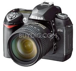 D70s Digital SLR Camera w/ 18-70mm f/3.5-4.5G ED-IF AF-S DX Zoom-Nikkor Lens