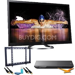 XBR55HX950 55 inch 240HZ 1080p 3D Internet Full-Array LED BUNDLE