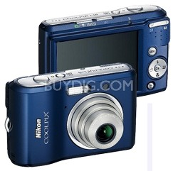 Coolpix L18 8MP Digital Camera (Navy Blue) with Free 2GB Memory Card