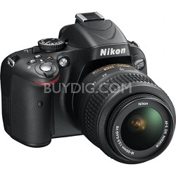 D5100 DX-format Digital SLR Body w/ 18-55mm VR Lens