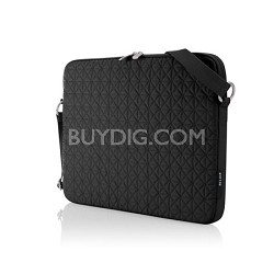 15.4-Inch Quilted Carry Case (Black)