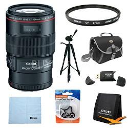 EF 100mm f/2.8L Macro IS USM Macro Lens Exclusive Pro Kit