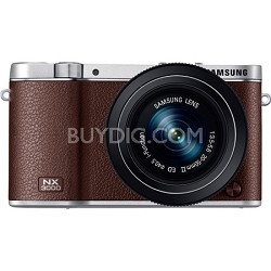 NX3000 20.3MP Brown Smart Compact System Camera with 20-50mm Power Zoom Lens