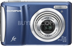 "FE-47 14MP 2.7"" LCD Digital Camera (Blue)"
