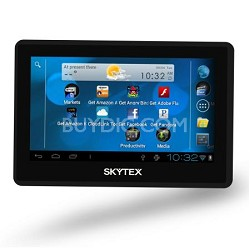 "Skypad 4.3"" Touchscreen Android 4.0 Tablet with Built-in WiFi and Webcam"