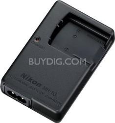 MH-63 battery charger for Nikon EN-EL10, Coolpix S3000/S4000