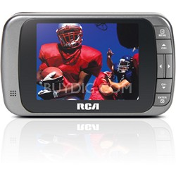 "DHT235A - 3.5"" LCD Portable Pocket Digital ATSC LED TV"