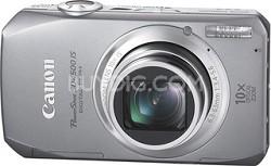 PowerShot SD4500 IS Digital Camera (Silver) w/ 1080p HD Video Refurbished